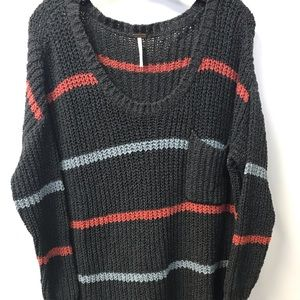 Free People Sweater Striped M